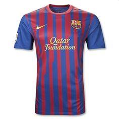 Barcelona Home Youth Soccer Jersey Camisa Barcelona, Barcelona Jerseys, Barcelona Football, Fc Barcelona, Youth Soccer, Play Soccer, Basketball, Soccer Jerseys, Dortmund
