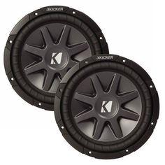 shielded dual voice coil 6 5 in woofer 90 watt 8 ohm sub speaker in rh pinterest com