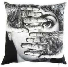 Fornasetti Theme and Variations 16-Inch Pillow - $160.00 »