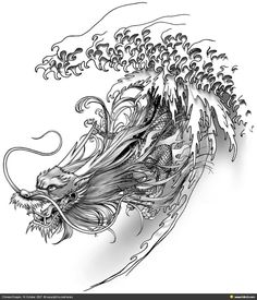 Illustrated Chinese Dragon - Google Search