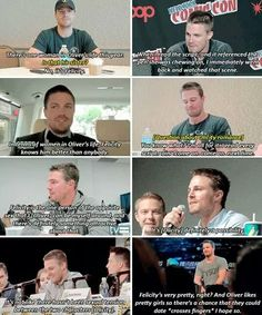 #CaptainAmell #Olicity <3