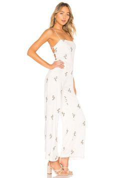 589829b9ebf Shop for House of Harlow 1960 x REVOLVE Natalie Jumpsuit in White at  REVOLVE.