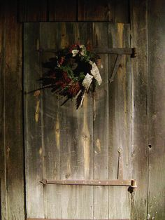 Christmas Doorway, Portsmouth, New Hampshire by souloyster, via Flickr