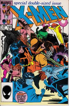 Uncanny X-Men 193 May 1985 Issue Marvel Comics by ViewObscura