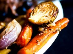 Une recette de légumes rôtis savoureuse, idéale pour garnir tous vos plats.