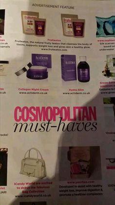 Actiserm is in #cosmopolitan #cosmo http://www.actiderm.co.uk/me/rhiannon-williamson
