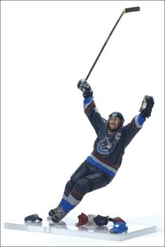 McFarlane Toys NHL Sports Picks Series 14 Action Figure Markus Naslund 2 Vancouver Canucks Blue Jersey -- Want additional info? Click on the image.