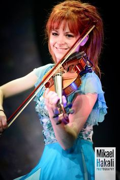 Lindsey Stirling... Pinning this only because she's in that one Owl City song. :)