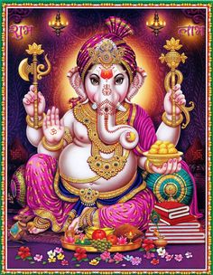 Lord Ganesha (via Etsy: EasternImage)