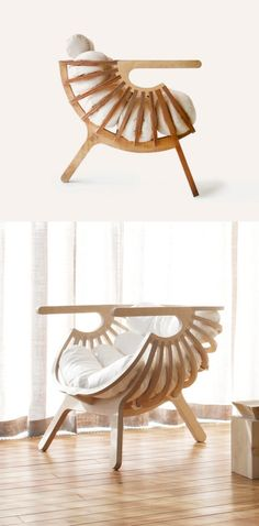 Ever felt your interior could look more artistic? There's a piece of furniture that's as functional as it's creative – the sculptural chair. Cheap Patio Furniture, Cool Furniture, Furniture Sets, Furniture Design, Luxury Furniture, Mission Chair, Plywood Chair, Farmhouse Dining Chairs, Metal Chairs
