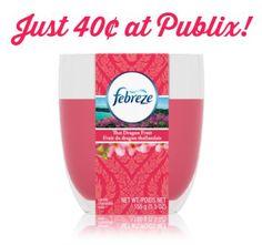 febreze Fantastic Deals On Febreze Items At Publix   Candles Just 40¢