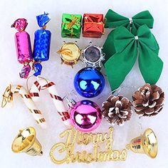 Saver 17Pcs Christmas Tree Hanging Omaments Xmas Baubles Decor Festival Gifts * Read more reviews of the product by visiting the link on the image.