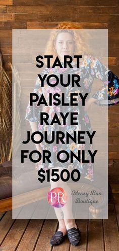 Start Your Paisley Raye Journey for Only $1500 #paisleyraye #fashion