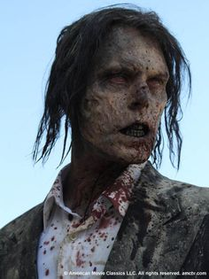 I think this zombie has some sort of significance…. but i havent found out why yet…. but he just has a few close up shots of him…. i wonder..
