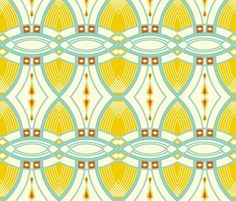 Spoonflower Art Deco Pattern
