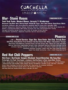Coachella Posters Through the Years