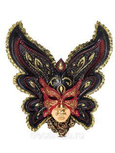 """Венецианская маска """"Бабочка"""":"""
