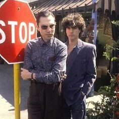 Ron and Russell #sparks_official #favouriteband #musicalheroes #russellmael…