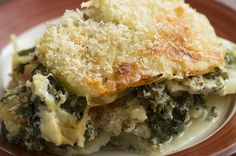 Creamy Scalloped Potatoes With Kale