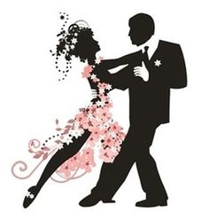 Take a ballroom dancing, tango, swing, or whatever lesson. No need to be a pro, just learn the steps together. Dancer Silhouette, Silhouette Tattoos, Silhouette Art, Shall We Dance, Just Dance, Dance Logo, Freedom Tattoos, Country Dance, Dance Lessons