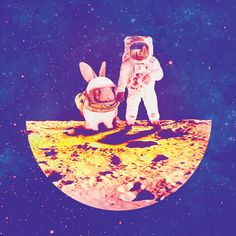 Mid Autumn Festival on moon on Behance