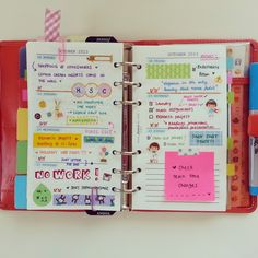 My week in my filofax She's Eclectic Home Planner, Happy Planner, Planner Ideas, Smash Book, Journaling, Bullet Journal, Life Journal, Erin Condren Life Planner, Day Planners