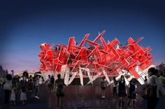 Coke's playable musical sculpture for the Olympics.
