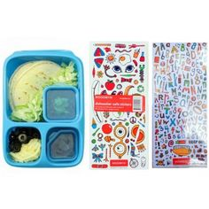 Lunchbox with stickers / śniadaniówka z naklejkami