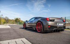 Ferrari 458 Italia unter Druck - PRIOR-DESIGN hübscht die Diva auf  http://www.autotuning.de/ferrari-458-italia-unter-druck-prior-design-huebscht-die-diva-auf/ 458, Ferrari, Ferrari 458 Italia, Prior Design