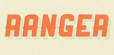 Font Inspirations: Ranger [Free Download]