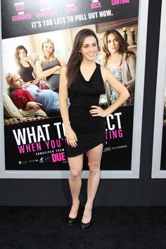 Kathryn McCormick of Step Up Revolution in FROCK Los Angeles' Kyla dress. Kathryn is a big supporter of eco fashion and shows us her red carpet premiere take on our Kyla dress.