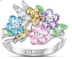 Tinker Bell Garden of Love Ring - love Tinker Bell!