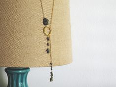 How to make a Pyrite Lareat Necklace | Alonso Sobrino Hnos. Co. & Inc. Druzy Beads and Fabrics
