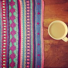 colorful #crochet blanket by @holly_pips
