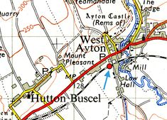 Disused Stations: Forge Valley Station Disused Stations, British Rail, North Yorkshire, Lost