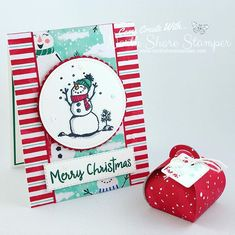 Purchase the adorable snowman bundle including the punch and get the snowflake sequins FREE! On until tomorro. Christmas Card Crafts, Stampin Up Christmas, Christmas Cards To Make, Christmas Love, Xmas Cards, Handmade Christmas, Holiday Cards, Christmas 2019, Father Christmas