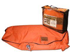 TBK Industries Reusable Game Bag, Fluorescent Orange, Large