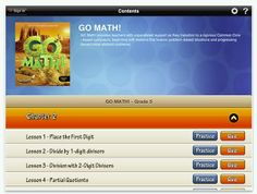 iintegratetechnology: 2nd Grade Go Math Lesson 4.2 (Compensation) and Go Math App for Grade 5