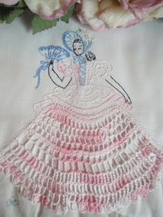 Southern Belle embroidery