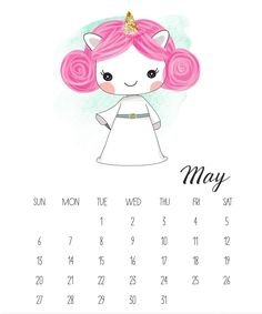 Beautiful May 2018 Calendars #May2018 #calendars #printable