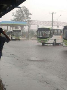 Ônibus do Consórcio RMTC de Goiânia no Terminal do Conjunto Vera Cruz