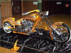 This Chopper was incredible to look at. Photo taken at the Melbourne hot rod show Jan Category: Stock image, Photographer: Spaceace. Custom Street Bikes, Custom Bikes, Custom Cars, Chopper Motorcycle, Motorcycle Design, Biker, Custom Cycles, Custom Choppers, Cars Motorcycles