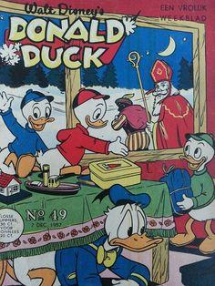 Donald Duck 1957  (Sinterklaas cover)
