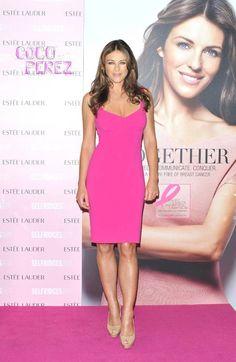 a1db78e959 Michael Kors Pink Elizabeth Jane, Elizabeth Hurley, Go Pink, Styles, Breast  Cancer