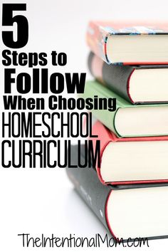 Choosing homeschool curriculum doesn't have to be overwhelming if you follow these simple steps. Read how this homeschooling mom of 7 chooses curriculum.