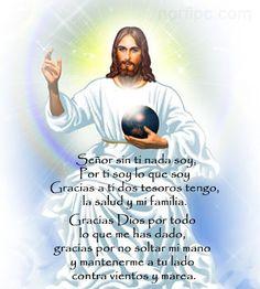 Frases cristianas para agradecerle a Jesucristo por lo que tenemos y recibimos, por lo que somos y lo que deseamos ser y por lo que nos ha entregado