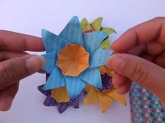 ORIGAMI SPIN FLOWER N.4 ( Tia MR )