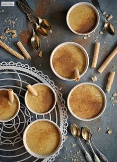 15 super recetas con la Th Food N, Good Food, Food And Drink, Flan, Mini Cheesecakes, Cake Recipes, Easy Meals, Cooking Recipes, Pudding