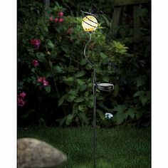 Solar Butterfly Border Stake