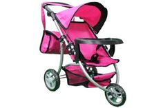 Doll Strollers - Mommy  me Doll STROLLER with FREE carriage bag 9377BT * For more information, visit image link.